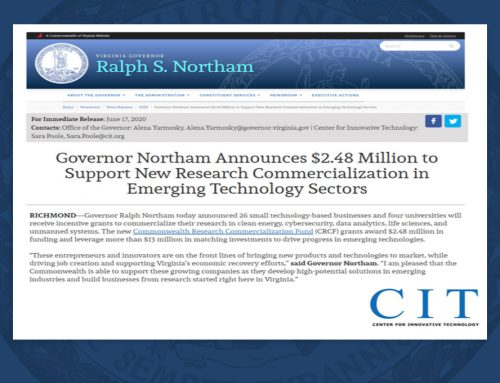 CTP Awarded Grant to Support Commercialization of Automated Export Classification Tool